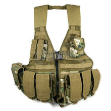 charger le portant gilet gilet de combat armée gilet ISO et SGS Standard