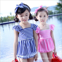 Blue Little Girls Kids Fashion Swimwear