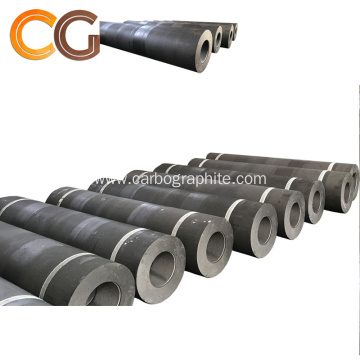 UHP 300mm Graphite Electrode with 4 TPI Nipple