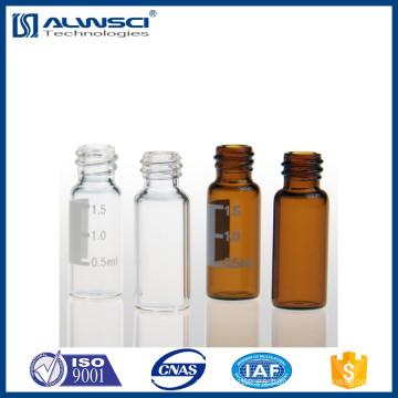 Muestras libres Frasco de vidrio de 2 ml con gel de sílice para cromatografía en columna