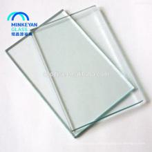 Niedriger Preis 2mm 3mm 8mm ausgeglichenes Floatglas
