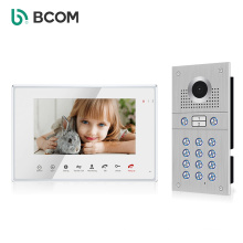 IP65 Waterproof video entry system With Stainless Steel Call Panel door video phone intercom For 2-Apartments