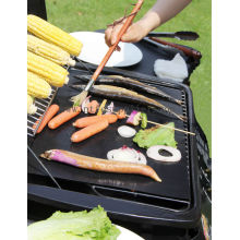 Quality for Non Stick BBQ Grill Mesh Mats PTFE Non-stick And Reusable BBQ Grill Sheet export to Faroe Islands Factory