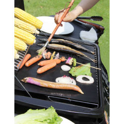 Re-usable BBQ Grill Sheet - Non-stick PTFE Coated Fiberglass, Heat Resistant