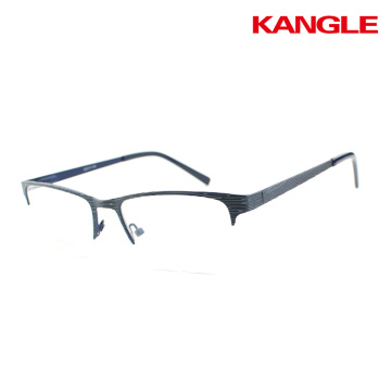 Fashionable metal stainless glasses optical frames for wholesales