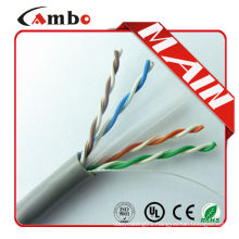 China manufacturer best price utp cat6 network cables 100% fluck tested high quality