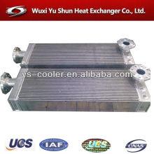 Evaporador de placas de aluminio