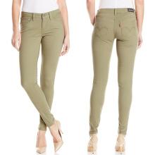 Фабрика OEM женские брюки Цвет брюки повседневные брюки одежды краситель брюки