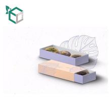 Estilo elegante de alta calidad de papel personalizado ecológico Nuevo estilo de la moda caja de embalaje de alimentos
