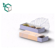 Stylish Style High End Paper Custom Eco-Friendly New Fashion Style Food Box Packaging
