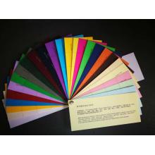 cor Embalagem de papel