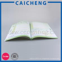 Venta al por mayor Impresión de revista barata Impresión de libros Impresión de catálogos