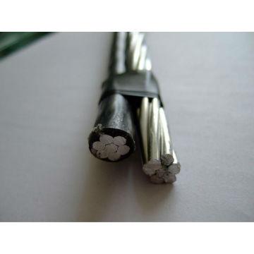 cabo pendente de cabo pec / xlpe cabo pendente de serviço duplex de cabo AAAC / AAC