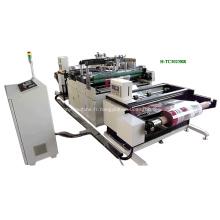 Machine d'estampage à chaud de matériau enroulé