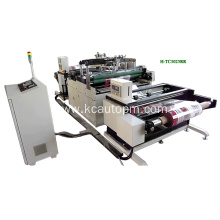 Coiled material hot stamping machine