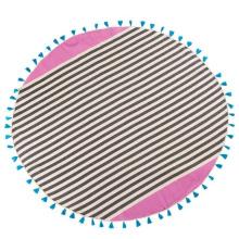 Neues Velours-Mikrofaser-Wildleder rundes Badetuch