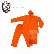Customized High quality adult Pvc polyester rain coat,Men rain coat, Rain suit CE Standard