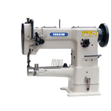Single Needle Cylinder Bed Unison Feed Walking Foot Heavy Duty Leather Sewing Machine for Tape Binding