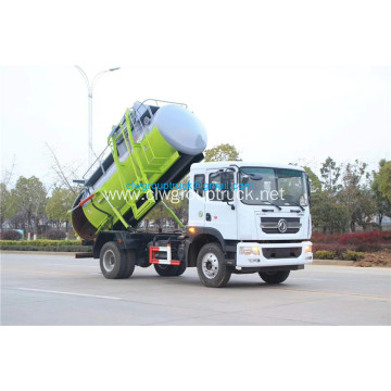 Dongfeng 8.5CBM tank capacity of garbage truck