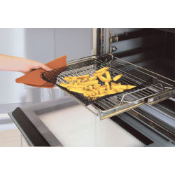 """New 14.7"""" Square Resuable Non-stick Oven Crisping Mesh For Frozen/Unfrozen Food"""