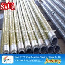 concrete pump rubber hose Stock Lot Of Rubber Concrete Pump Rubber Hose