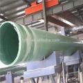 Bobinadora controlada automática del tubo del filamento de FRP / GRP que hace la máquina