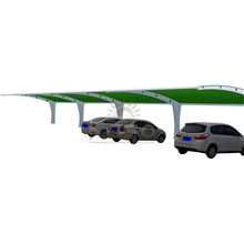 Stop Station Polycarbonate Roof Carport Bus Shelter