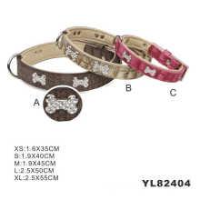 Luxury PU Dog Collars, Leather Dog Collar (YL82404)