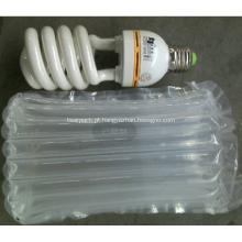 Bolsa de embalagem tampão de ar para lâmpadas de poupança de energia