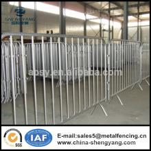 Barrière de contrôle des foules 1.8m / Clôture temporaire / Clôture / Sécurité / Gestion