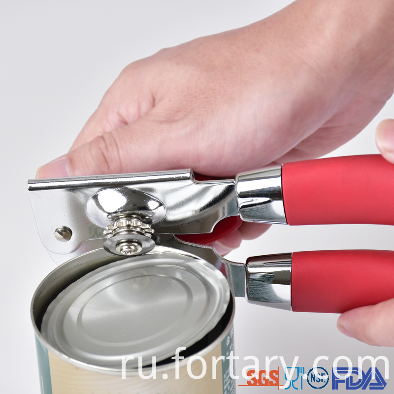 Rubber handle Can Opener