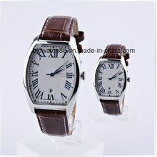 Analog Stainless Steel Lover′s Pair Watches for Couple