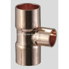 Reducer Tee Copper Fittings for Refrigeration Fitting