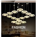 Lumière moderne de lustre de lustre de décoration d'hôtel à la maison