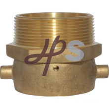 Hot forging brass fire fitting/coupling