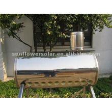 Calentador de agua solar tubular de Thermosyphon, géiser solar, acero inoxidable
