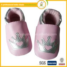 2015 оптовая продажа в кожаной детской обуви ningbo