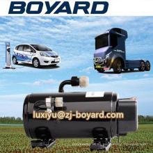 Solar del acondicionador de aire con compresor de aire acondicionado de 60V 8000BTU dc convertidor para el sistema eléctrico del vehículo