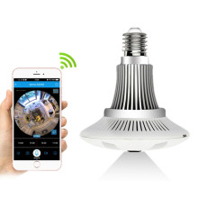 Bulb Light Wireless Security Wifi IP Camera