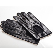 Men′s Fashion Goatskin Leather Driving Gloves (YKY5190)