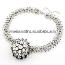 Pull personnalisé à la mode brillant Collier coréenne collier collier en métal souple et flexible