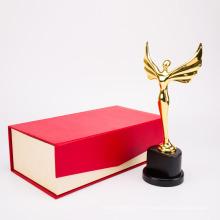 Récompense de trophée de haute qualité de l'académie en métal et récompenses pour le produit en métal