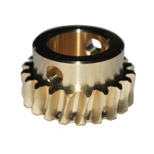 Bronze SAE660 Pinion Worm Gear for Dental Equipment