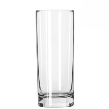 Clear Heavy Base Cooler Straight Shape Tall Glass Cup (15052102)