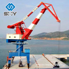 hydraulic marine deck crane in port or ship More questions, please send message to us!