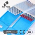 argon welding tungsten electrode / tungsten rods / tungsten needle