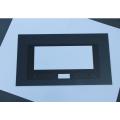 Elektrische rechteckige ofengehärtete Glasscheibe