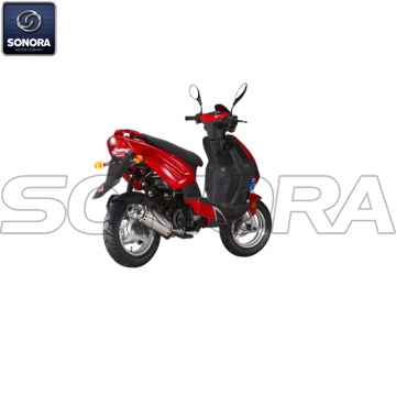 Benzhou YY50QT-27 TWO STROKE Complete Scooter Spare Parts Original Quality