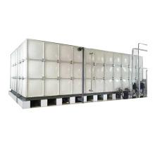Tanque de água potável de fibra de vidro anticorrosão FRP