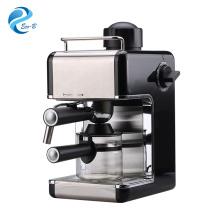 Meilleure vente Accueil Machine à café expresso à cappuccino à vapeur de 3,5 bars avec pichet en verre